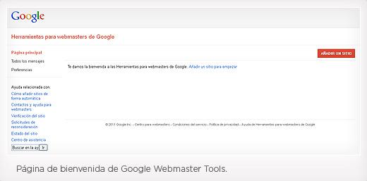 Paso 2 Instalación Google Webmaster Tools