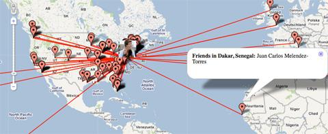 Localiza a tus amigos