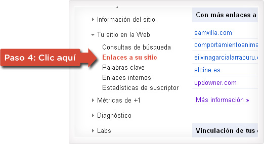 Enlaces entrantes o inbound links