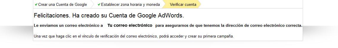 Cómo crear una cuenta de Google AdWords