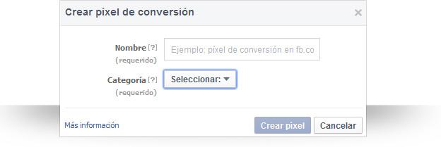 Píxel de conversiones