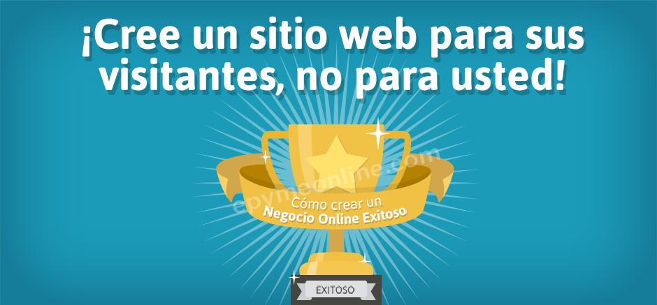 Crear sitio web para sus visitantes
