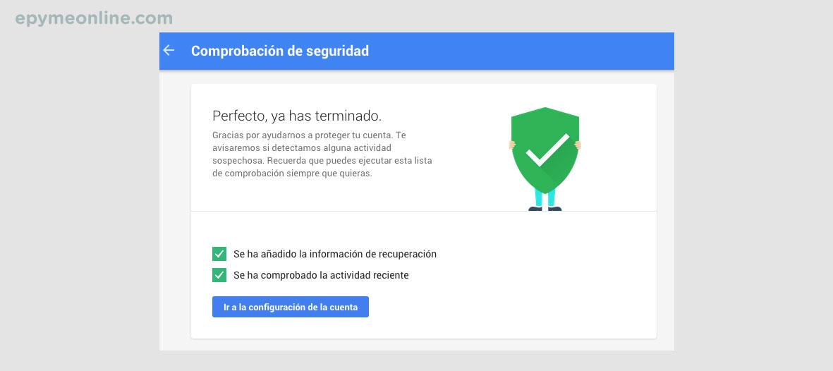 Seguridad de las cuentas de Gmail