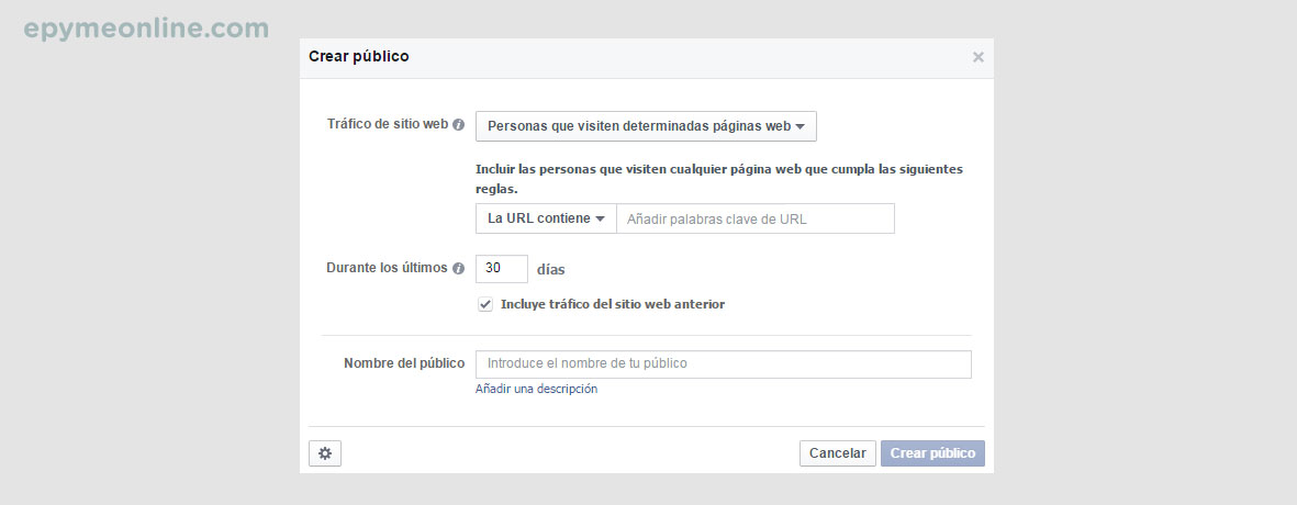 Píxel de remarketing en Facebook