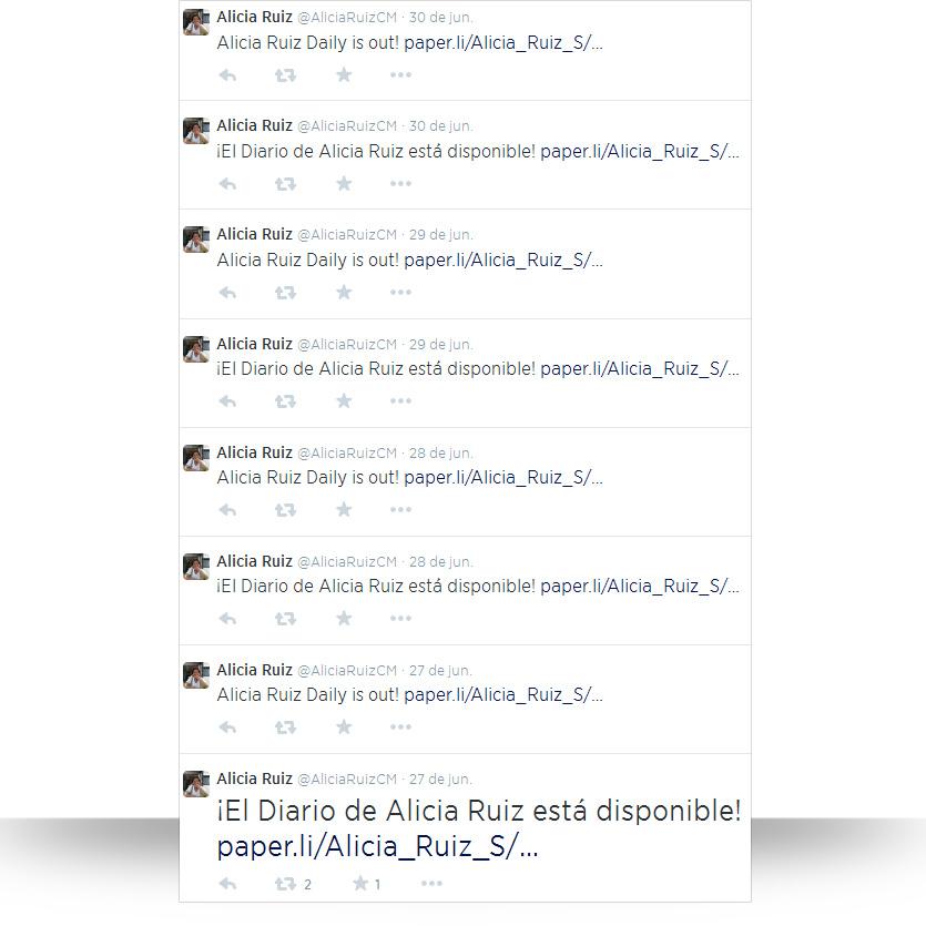 Autoresponders en Twitter