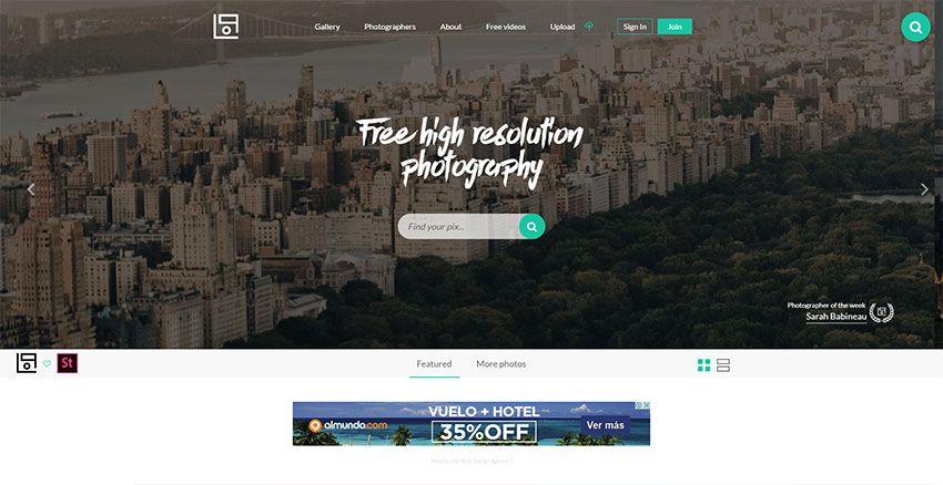 Lifeofpix - Banco con imágenes de extrema calidad