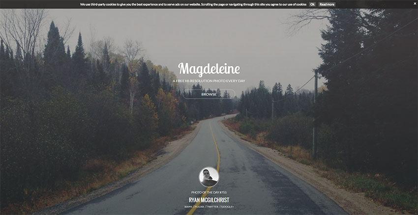 Magdeleine - Variado banco de imágenes
