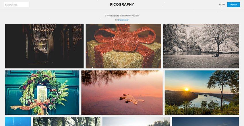 Picography - Nuevo banco de imágenes en franco crecimiento