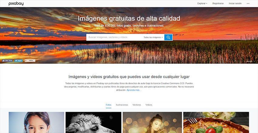 Pixabay - Banco de imágenes en castellano