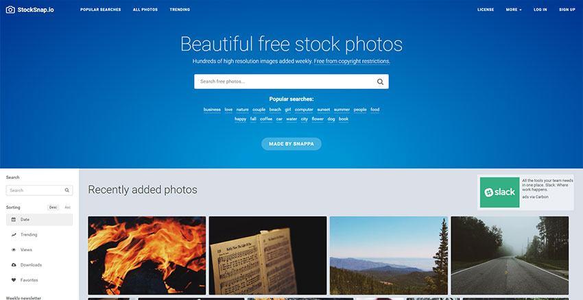 Stocksnap.io - Gran calidad de imágenes y variedad