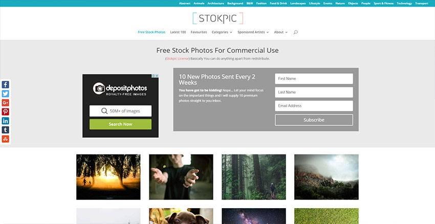 Stokpic - Banco de imágenes de alta calidad gratis