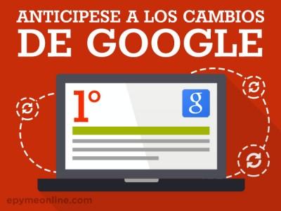 Cómo lograr anticiparse a los cambios en el buscador de Google