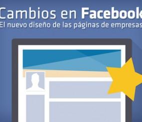 Cambios en Facebook – El nuevo diseño de las páginas de empresas