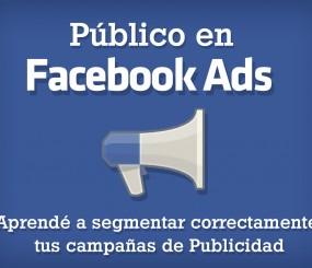 Público en Facebook: aprendé a segmentar correctamente tus campañas de publicidad