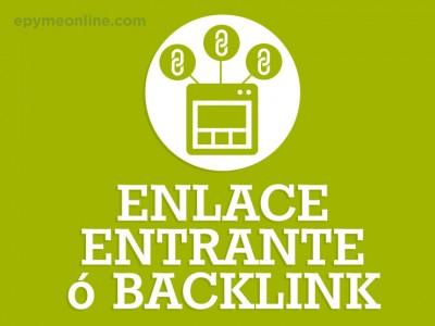 ¿Qué es un Enlace Entrante o Backlink?