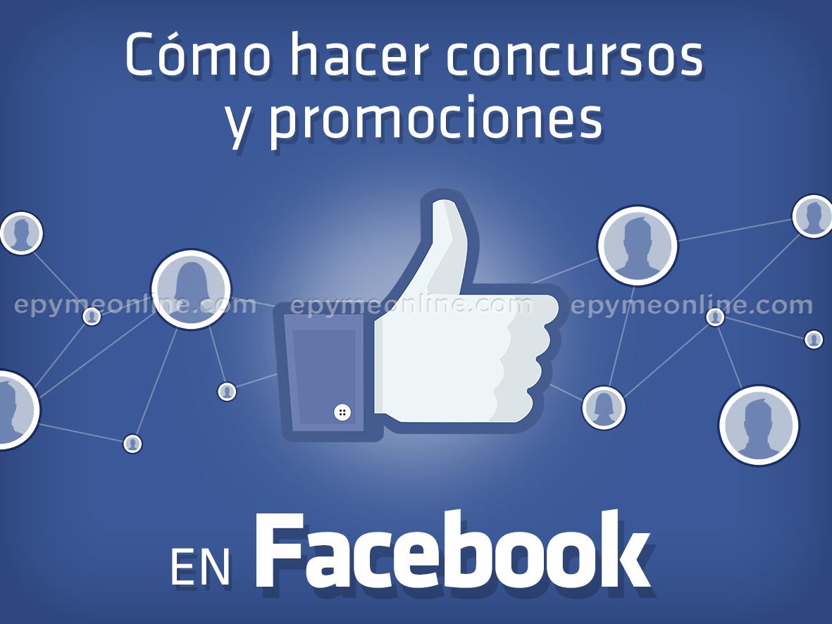 como hacer concursos y promociones en Facebook