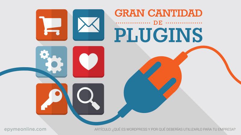 Wordpress - Gran cantidad de Plugins