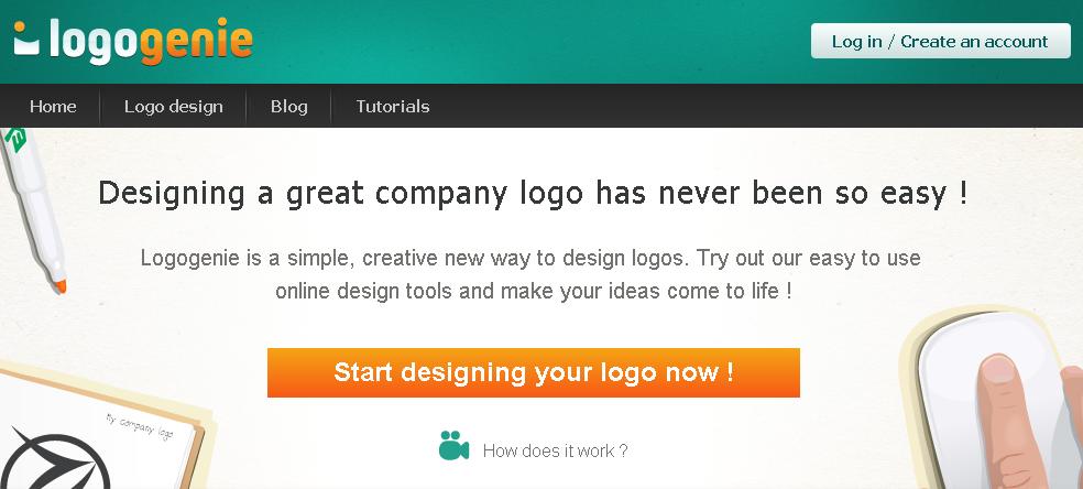 Herramienta para crear logos