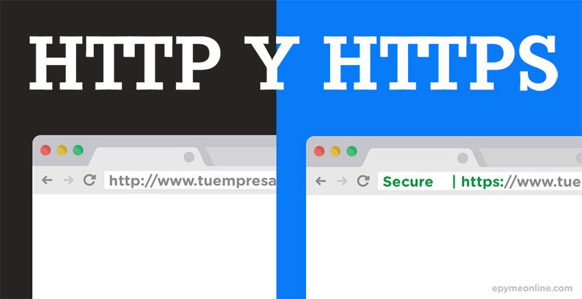Qué es HTTP y HTTPS